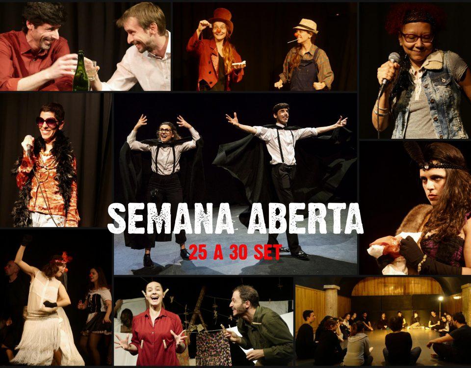 semana aberta no evoé, em Lisboa, teatro, workshops gratuitos, setembro