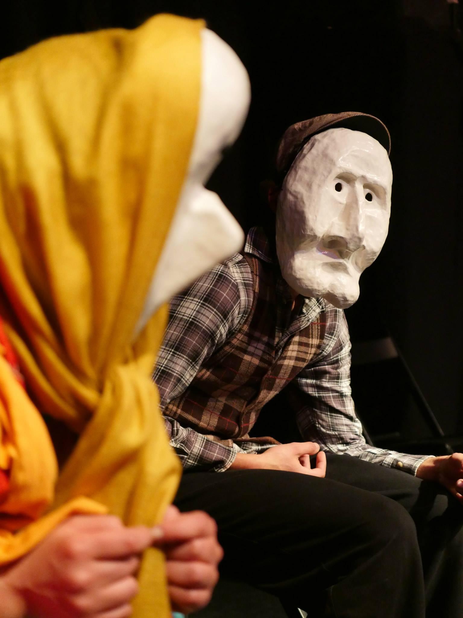 Mascaras Larvares Lecoq Evoé -Escola de Atoctores act theater school