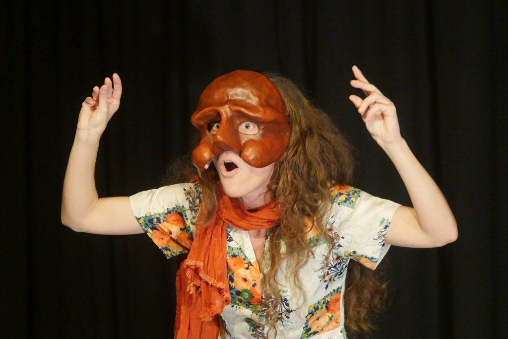 Comédia Humana - Teatro de Máscaras - Evoé Escola de Atores Commedia dell'art