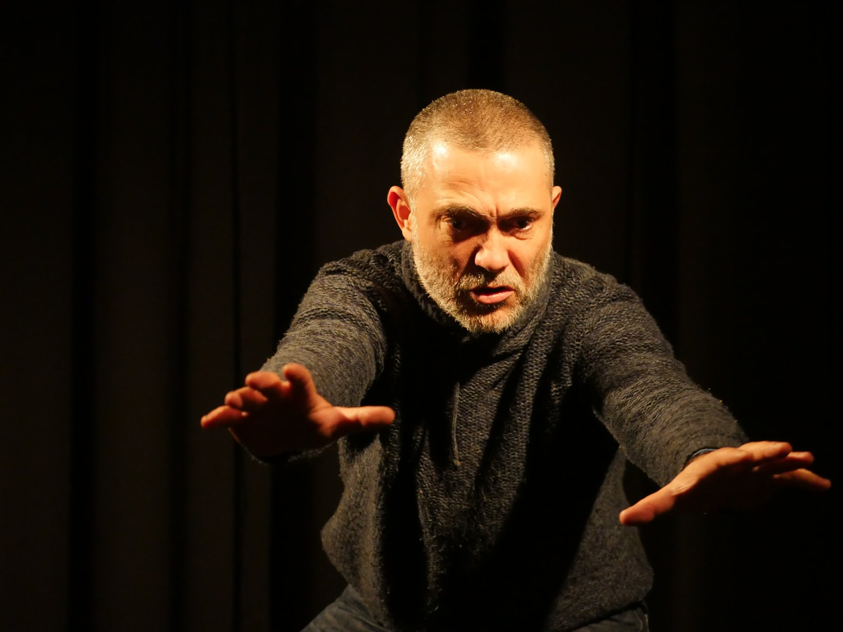 Pablo Fernando- O ator e amáscara curso intensivo - teatro do gesto-máscara larvária comédia humana